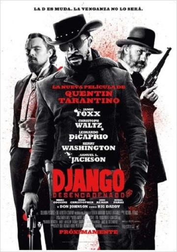 Django desencadenado cartel