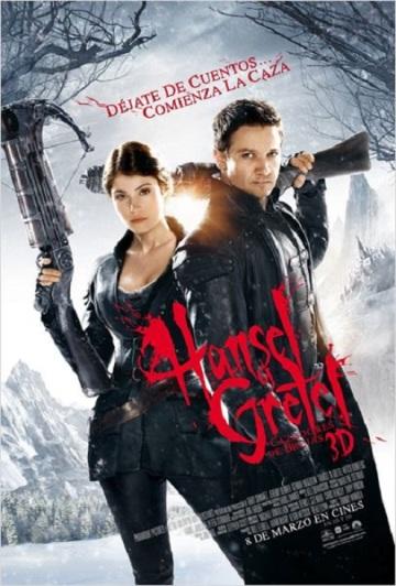 Hansel y Gretel Cazadores de Brujas cartel