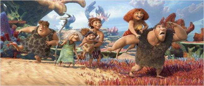 Los Croods Una aventura prehistórica imagen 1