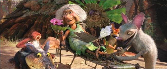 Los Croods Una aventura prehistórica imagen 2